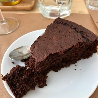 Moelleux chocolat et coco